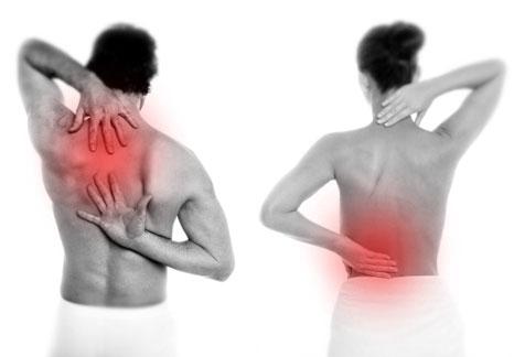 Le ragioni di dolori nella parte giusta da un dorso a donne